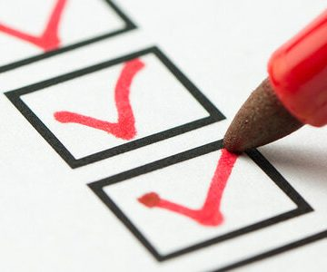Checklist for checking out of your house